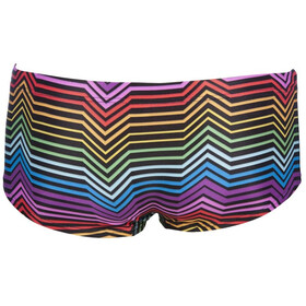 arena Multicolor Stripes Low Waist Shorts Men black/multi